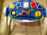 Nice little music center to entertain your child as he