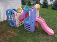 Little Tikes 8 in 1 Playground good condition some