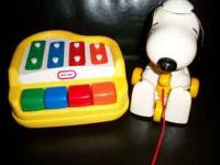 little tikes PIANO / XYLOPHONE...VERY VERY CLEAN...LIKE