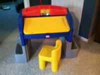 Little tikes art desk. Great for your kids to enjoy