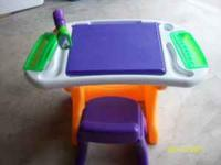 Little Tikes Art Table with chair. $25.00 Please Call