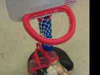 Little Tikes basketball hoop in great condition.