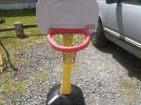 Little Tikes Basketball Goal $10 If interested, call
