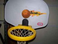 FOR SALE: Little Tikes Basketball Goal $10.00 OBO Call