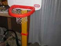 Little Tikes Basketball hoop description: This