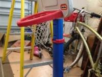 Little tikes basketball hoop. It is missing the