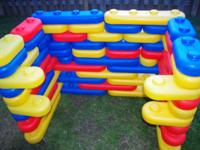 For Sale is our Little Tikes Big Building Blocks.