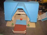 Little Tikes Blue Roof Dollhouse. $15. Would make a