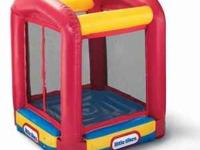 I got little tike bounce house that wasn't used very