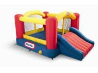 Little Tikes Bounce House with slide. 9X12. Excellent