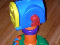TONS OF FUN IN ONE TOY. MAKE THE BEE SWRIL AROUND THE
