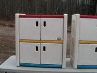 Little Tikes Cabinets  Excellent condition.  Asking