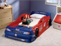 For sale Little Tikes Car Bed less than half price..
