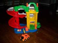 I have a Little Tikes Car Ramp with cars.. asking $20.