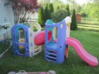 LITTLE TIKES CLIMBER W/ 2 SLIDES $100 OR BEST OFFER