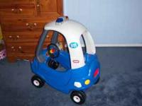 Little Tikes Cozy Coupe Police Car with police radio