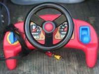 Little tikes cozy coupe driving game in excellent