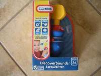 HI,I HAVE A BRAND-NEW LITTLE TIKES DISCOVERSOUNDS