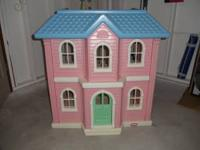 Little Tikes doll house, 3ft.x3ft.x2ft. Call  Location: