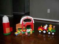 I have a little tikes farm and a little tikes tractor