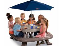 The Little Tikes Fold 'N Store Table with Market