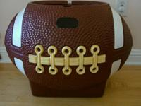 Vintage Little Tikes Football Toy Box (missing lid)-