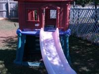 I have a LITTLE TIKES fort with slide..the bottom is