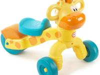 The Little Tikes Go & Grow Lil' Rollin' Giraffe Ride-On