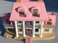 Little Tikes GRAND MANSION DOLLHOUSE- Orange City $75