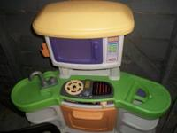 I HAVE A LITTLE TIKES KITCHEN FOR SALE. ITS VERY CLEAN