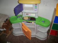 Little tikes kitchen set $25...if interested call  //