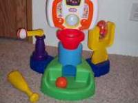 Great Condition, Cleaning toy room Sport Center has an