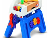 Open the Little HandiWorker Workhorse from Little Tikes