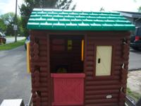 This Little Tikes Log Cabin Playhouse is in awesome