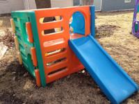 Little Tikes Outdoor Square Large Climber Has Four