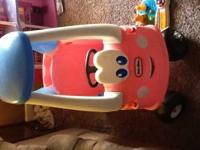 Little Tikes Pink Cozy Coupe Car. Only asking 20.00. If