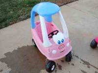 Little Tikes Pink Cozy Coupe excellent condition