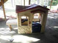 I have a little tikes play house its in great
