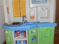 "little tikes- great condition play kitchen 44"" tall and"