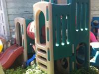 LITTLE TIKES PLAYGROUND with 2 Slides and Tunnel -