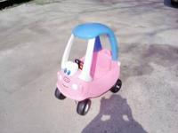 I HAVE A LITTLE TIKES PRINCESS COZY COUPE FOR SALE