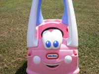 We have for sale a Little Tikes Princess Cozy Coupe