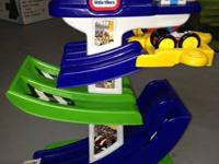 Little Tikes Race Track set w/cars - $15.00  Looks like
