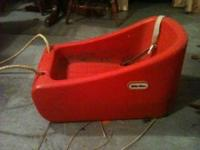 Little tikes red sled. $10 please Call or text if