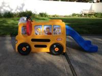 We are offering our Little Tikes School Bus Activity