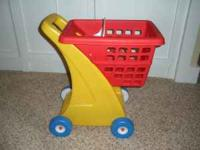 Save assembly time by purchasing this toy shopping cart