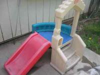 Little Tykes Toddlers sit n slide kids have a blast