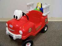 LITTLE TIKES SPRAY&RESCUE FIRE TRUCK PRICE $45.00 we