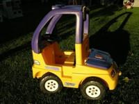 "LITTLE TIKES STEP 2 ""MIGHTY MAC"" RECHARGABLE 12 VOLT"