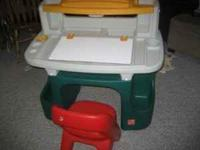This sturdy table and creative play activities for